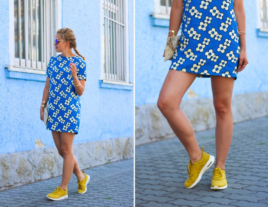 stylemon fashion blog dress sneakers outfit 2