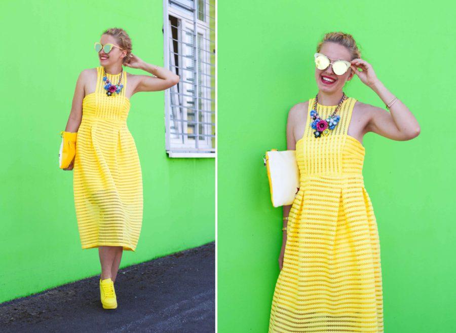 stylemon fashion blog yellow dress 1