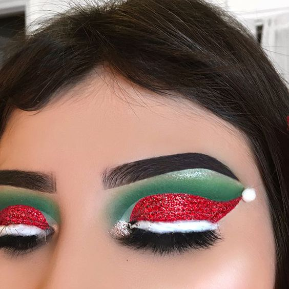 vtipny vianocny party make up