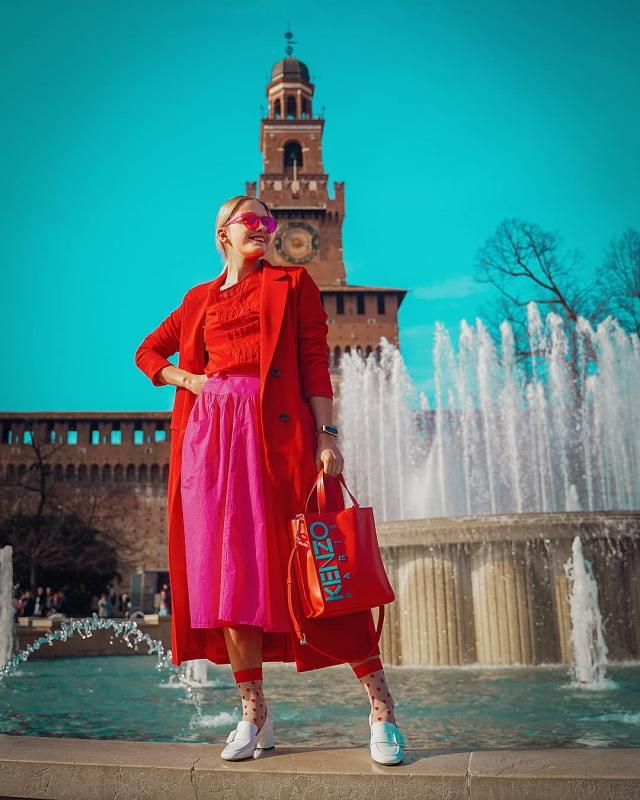 milano fashion week slovenska modna blogerka stylemon